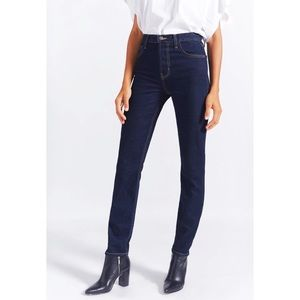 Current Elliott The Stovepipe Dark Wash Jeans NWT